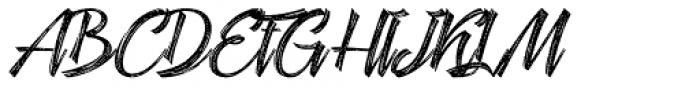 Hardwatt Regular Font UPPERCASE