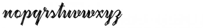 Hardwatt Regular Font LOWERCASE