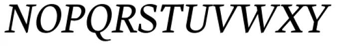 Harfang Light Italic Font UPPERCASE
