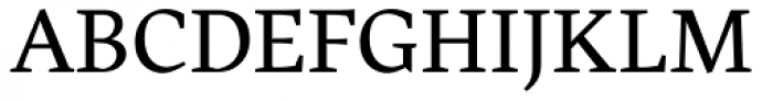 Harfang Light Font UPPERCASE