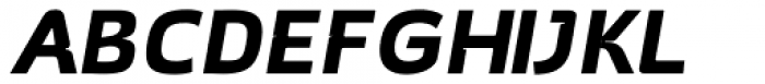 Hargloves Bold Italic Font UPPERCASE