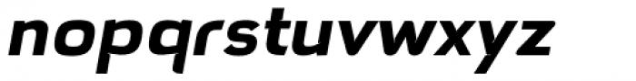 Hargloves Bold Italic Font LOWERCASE