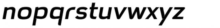 Hargloves Medium Italic Font LOWERCASE