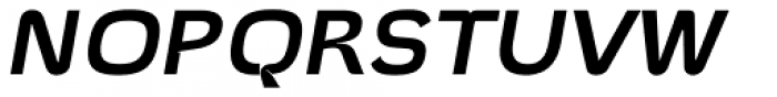 Hargloves Semi Bold Italic Font UPPERCASE