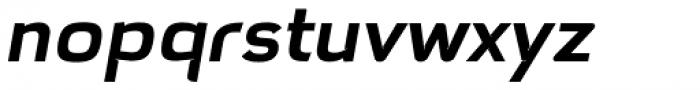 Hargloves Semi Bold Italic Font LOWERCASE