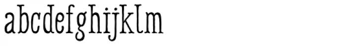 Harman Deco Font LOWERCASE