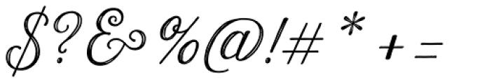 Harman Script Inline Font OTHER CHARS