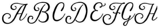 Harman Script Font UPPERCASE