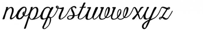 Harman Script Font LOWERCASE