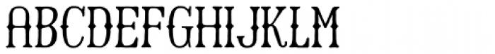 Harman Western Font LOWERCASE