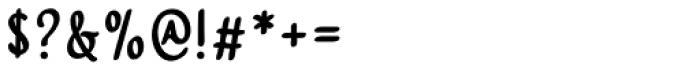 Harmona Harmona Sans Bold Font OTHER CHARS