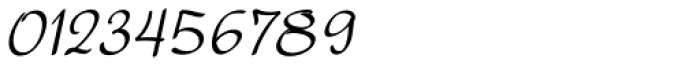 Harmona Harmona Script Slanted Font OTHER CHARS