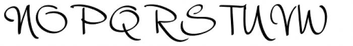 Harmona Harmona Script Font UPPERCASE
