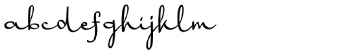 Harmona Harmona Script Font LOWERCASE