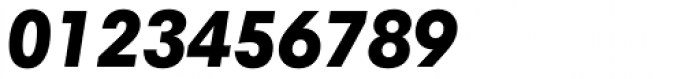 Harmonia Sans Paneuropean Black Italic Font OTHER CHARS