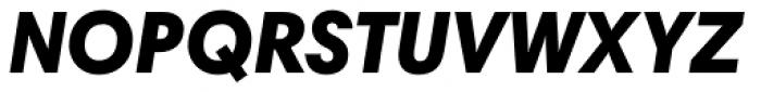 Harmonia Sans Paneuropean Black Italic Font UPPERCASE