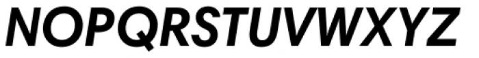 Harmonia Sans Paneuropean Bold Italic Font UPPERCASE
