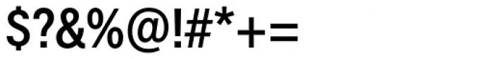 Harmonia Sans Paneuropean Condensed SemiBold Font OTHER CHARS
