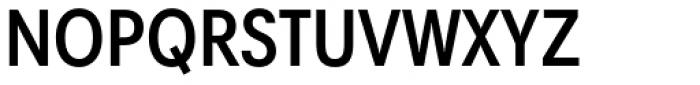 Harmonia Sans Paneuropean Condensed SemiBold Font UPPERCASE