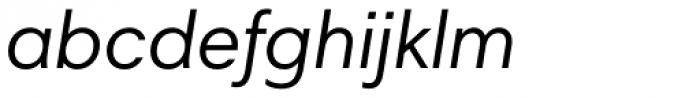 Harmonia Sans Paneuropean Italic Font LOWERCASE