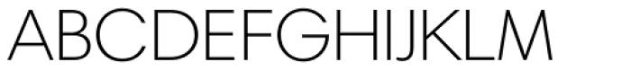 Harmonia Sans Paneuropean Light Font UPPERCASE