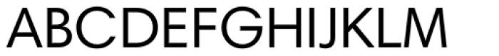 Harmonia Sans Paneuropean Regular Font UPPERCASE