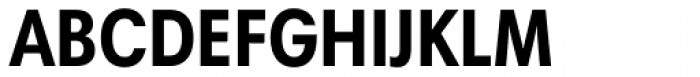 Harmonia Sans Pro Cyrillic Condensed Bold Font UPPERCASE