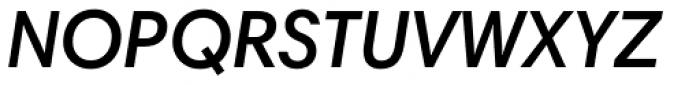 Harmonia Sans Pro SemiBold Italic Font UPPERCASE
