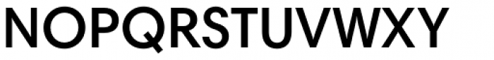 Harmonia Sans Std SemiBold Font UPPERCASE