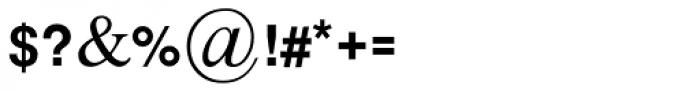 Harmonya MF Medium Font OTHER CHARS