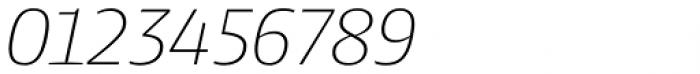 Harrison Serif Pro Extra Light Italic Font OTHER CHARS