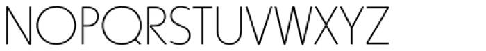 Harry Thin Font UPPERCASE
