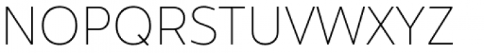 Hartwell Alt Thin Font UPPERCASE