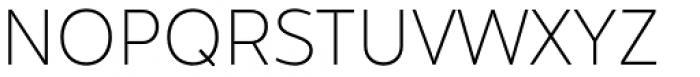 Hartwell Alt Ultralight Font UPPERCASE