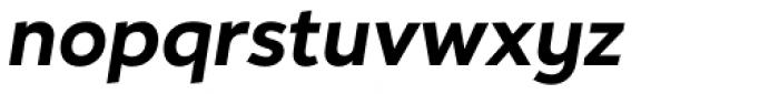 Hartwell Bold Italic Font LOWERCASE