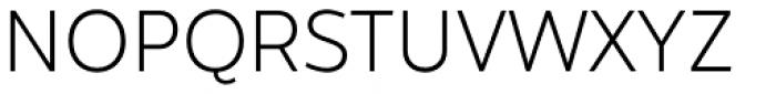 Hartwell Light Font UPPERCASE