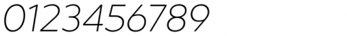 Hartwell Ultralight Italic Font OTHER CHARS