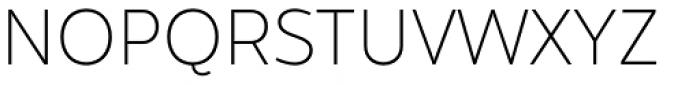 Hartwell Ultralight Font UPPERCASE