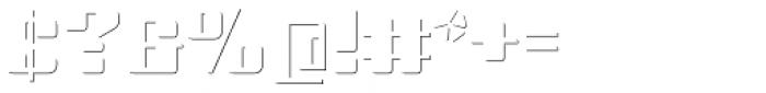 Haru B Shadow Font OTHER CHARS