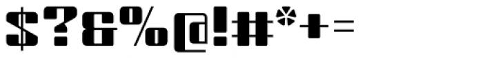Haru B Font OTHER CHARS