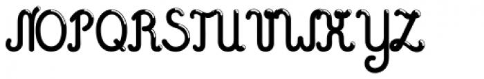 Hashtag Sparkle Bold Font UPPERCASE