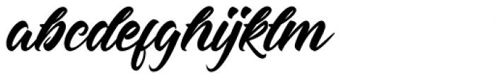 Hastadaya Font LOWERCASE