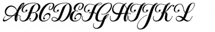 Hatachi Italic Font UPPERCASE