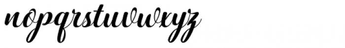 Hatachi Italic Font LOWERCASE