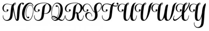 Hatachi Regular Font UPPERCASE