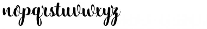 Hatachi Regular Font LOWERCASE