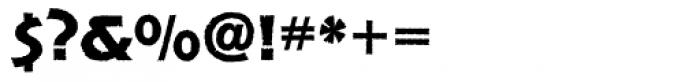 Hatari Font OTHER CHARS