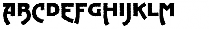 Hatari Font UPPERCASE