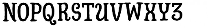 Hatter Cyrillic Display Font UPPERCASE