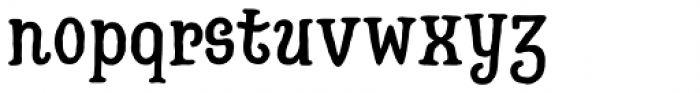 Hatter Cyrillic Display Font LOWERCASE